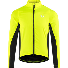 PEARL iZUMi Elite Pursuit Hybrid Jacket Men screaming yellow/black